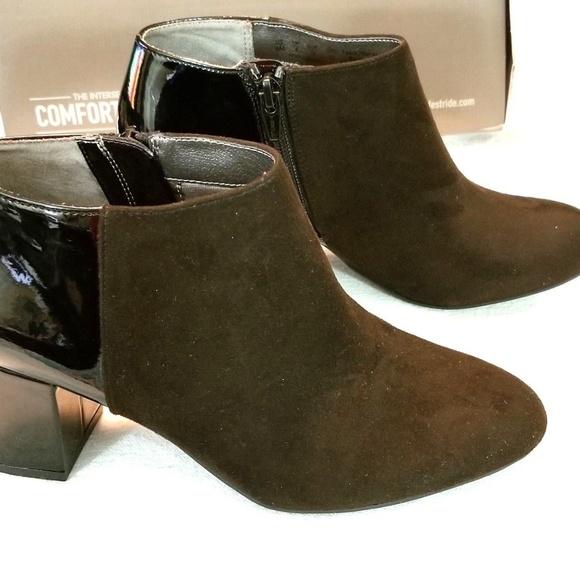 fa7b4e268d88 LifeStride Parigi Women Ankle Boots Black Micro